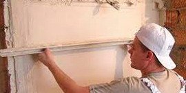 Штукатурка для наружных работ – гладкость стен и никакого мошенничества