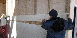 Утеплитель под сайдинг для деревянного дома – надёжная защита от непогоды