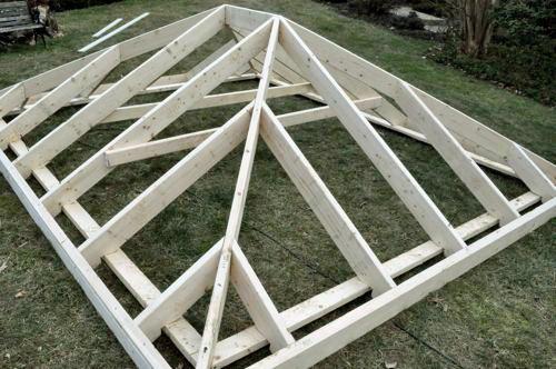 Как сделать крышу своими руками четырехскатную