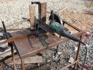 Как сделать отрезной станок из болгарки своими руками фото