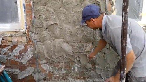 Декоративная штукатурка на стены своими руками