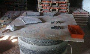 Приготовление раствора для тротуарной плитки в домашних условиях