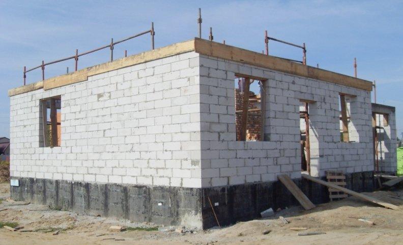 Дом из блоков предлагает услуги по строительству домов из