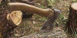 Аргун – плотницкий топор во всей красе!
