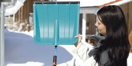Фото - Лопата для уборки снега – самодельная, покупная или приспособленная?