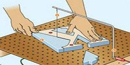 Как и чем резать пенопласт с гарантией точности размеров?