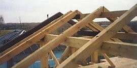 Стропила своими руками – надежная основа для двускатной крыши