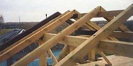 Фото - Стропила своими руками – надежная основа для двускатной крыши