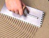 Фото - Шпатель зубчатый – главный инструмент плиточника!