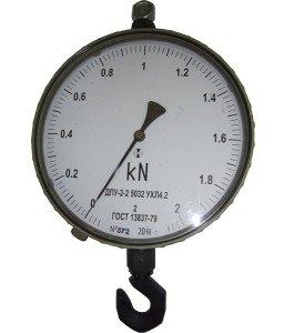 На фото - механический динамометр, vesmaster.in.ua