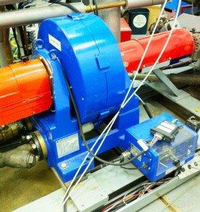 На фото - индукционный динамометр, equipment.lboro.ac.uk