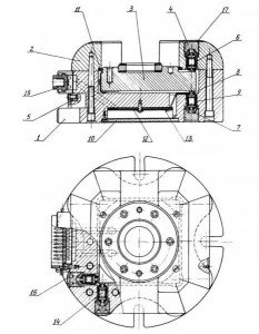 На фото - конструкция динамометра с проволочными датчиками, kak.znate.ru