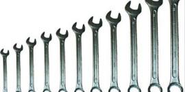 Фото комбинированных гаечных ключей