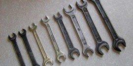 Фото рожковых гаечных ключей