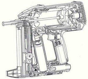 Фото схемы устройства газового монтажного пистолета, ukr-video.net