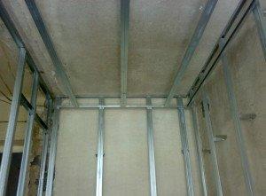 Фото каркаса для обрешетки стеновых панелей, budem.net