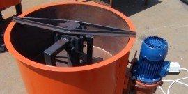 Принудительный бетоносмеситель – как работают лопасти?