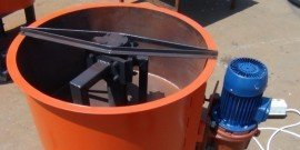 Фото - Принудительный бетоносмеситель – как работают лопасти?