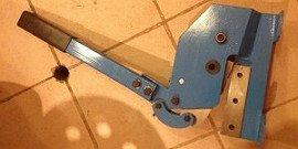 Рычажные ножницы – с какой силой они режут?