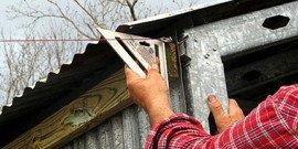 Как рассчитать угол наклона крыши и получить надежную конструкцию?