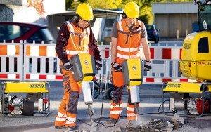 Электро-отбойный молоток – первый в истории! фото