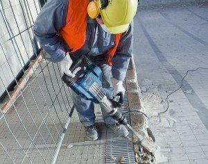 Электрический отбойный молоток – как работает агрегат? фото