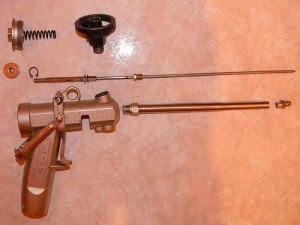 Фото ремонта монтажного пистолета для пены своими руками, selans.ru