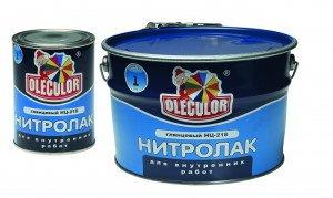 На фото - нитролаки, defconc.ru