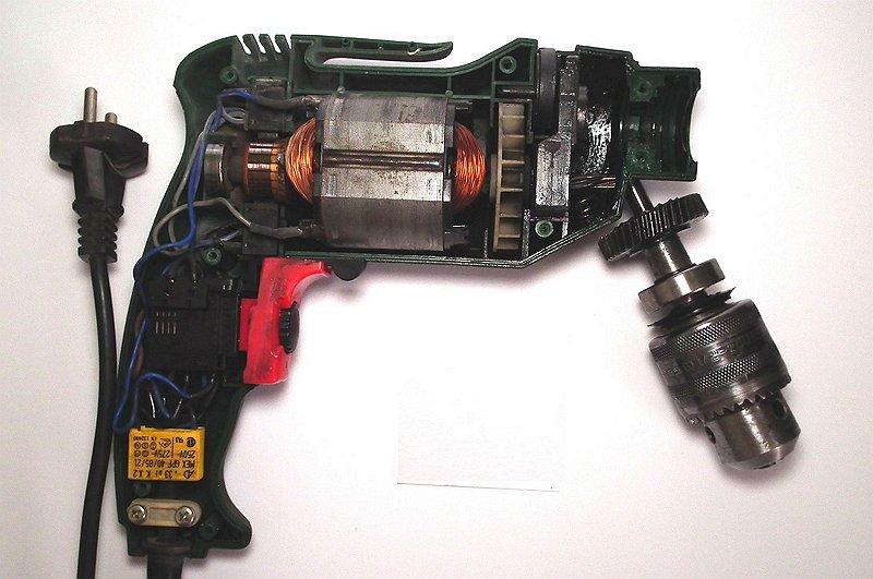 Как отремонтировать электродрель своими руками