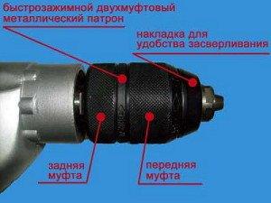 На фото - устройство патрона для дрели, eletos.ru
