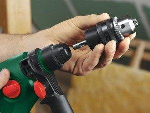На фото - как снять патрон с дрели, elhow.ru