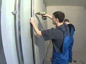 Фото крепления гипсокартона к стене саморезами шуруповертом, izgipsy.ru