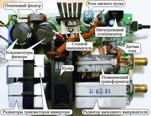 На фото - как отремонтировать сварочный инвертор своими руками, go-radio.ru