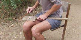 Фото заточки штыковой лопаты