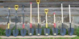 Фото различных штыковых лопат