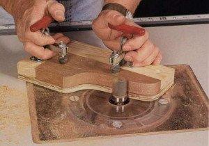 Струбцины столярные как пример принципа работы инструмента фото