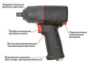 На фото - устройство ударного пневматического гайковерта, wuerthmarket.ru
