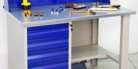 Рабочий стол в мастерской – какие возможны варианты? фото