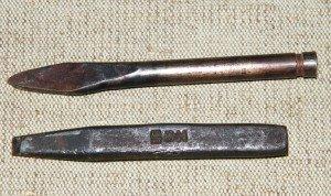 Фото зубила и крейцмейселя, ru.wikipedia.org
