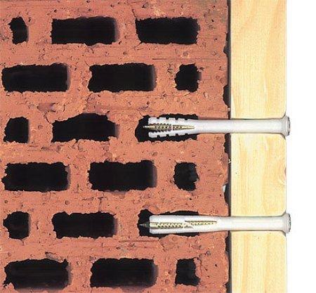 дюбель гвоздь для кирпичной стены