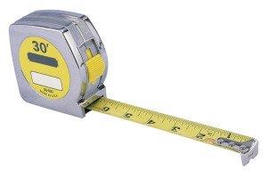 Фото металлической измерительной рулетки, fotokanal.com