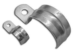 Фото скобы монтажной металлической для крепления металлорукава, krepezh.ukrstroy.net