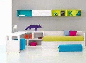 Мебель в детской: функциональные возможности и украшение