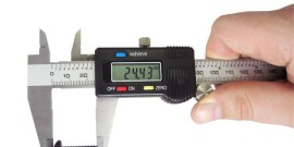 Конструкция цифрового штангенциркуля (150 мм) фото