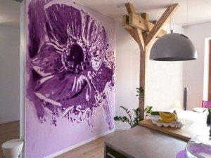 На фото - яркие обои для стен, rimontis.ucoz.ru