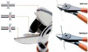Как правильно пользоваться боковыми кусачками?