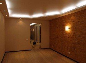 На фото - освещение квартиры в прихожей, h-i-h.ru