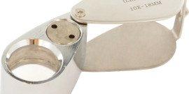 Фото ручной лупы с подсветкой, stayer-tools.com