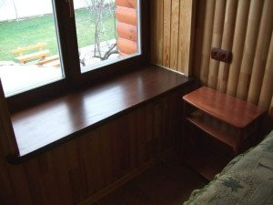 Фото деревянного подоконника, budcompass.com