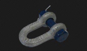 Фото такелажной U-образной скобы усиленной, cki-com.ru
